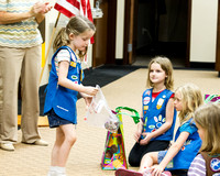 2012 Troop 486 Girl Scout Award Ceremony